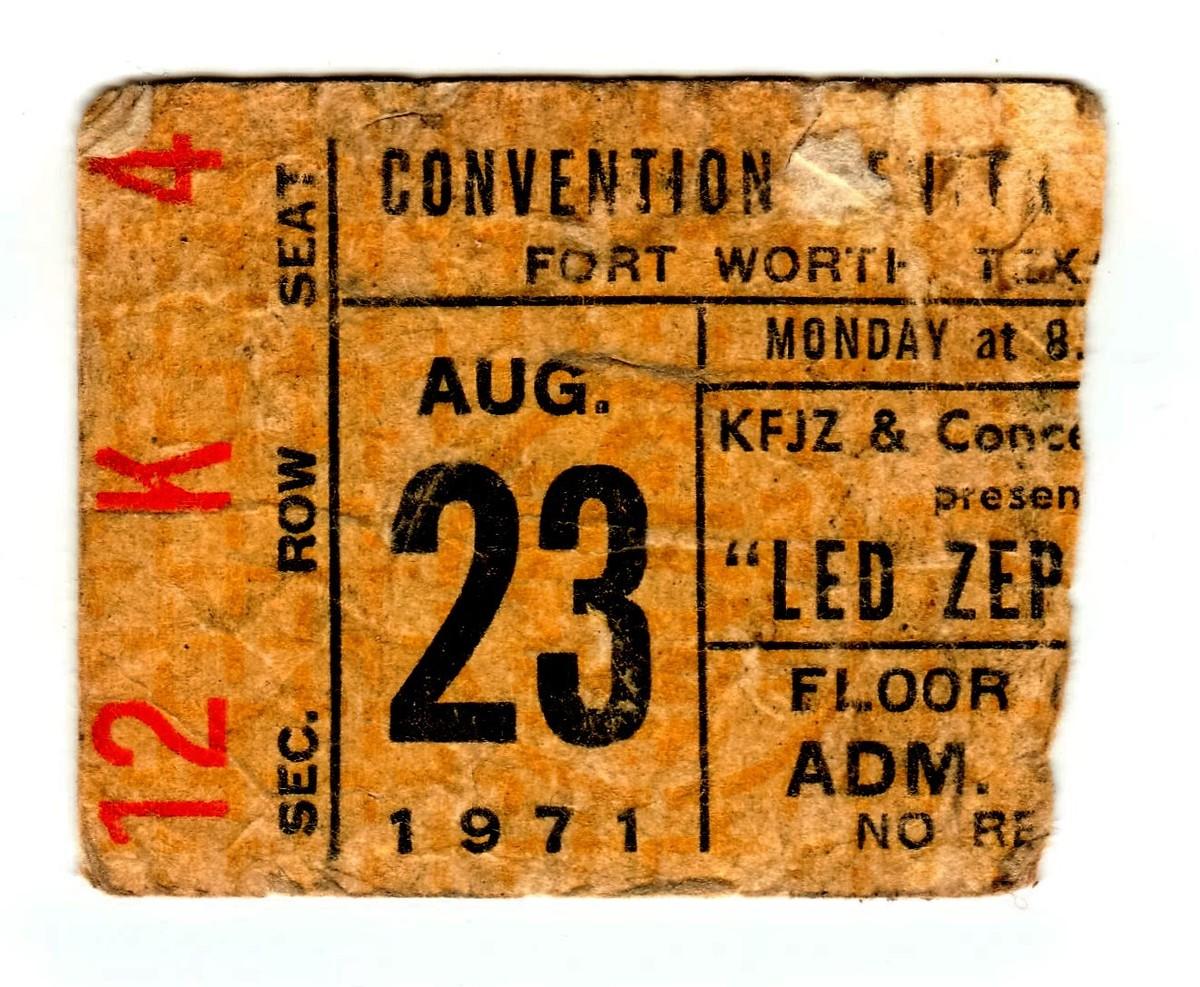 led zeppelin 39 s concert history concert archives. Black Bedroom Furniture Sets. Home Design Ideas